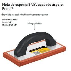 """Flota de Esponja 9/12"""" PRETUL"""