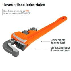 Llaves Stilson Industriales TRUPER
