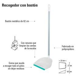 Recogedor con Bastón PRETUL