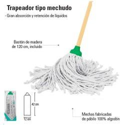Trapeador Tipo Mechudo PRETUL