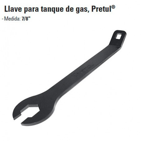 Llave Para Tanque de Gas PRETUL