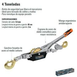 Malacate 4 Toneladas TRUPER