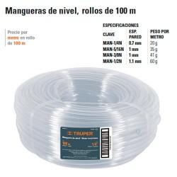 Manguera de Nivel Rollo 100M TRUPER