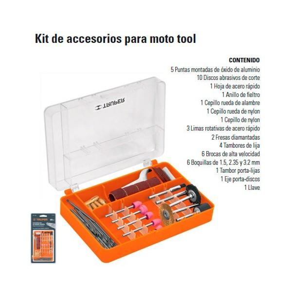 Kit de Accesorios Para Moto Tool TRUPER
