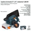 """Lijadora de Banda 3"""" x 21"""" Industrial 1050W TRUPER"""