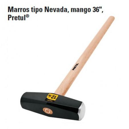 """Marro Tipo Nevada 36"""" PRETUL"""