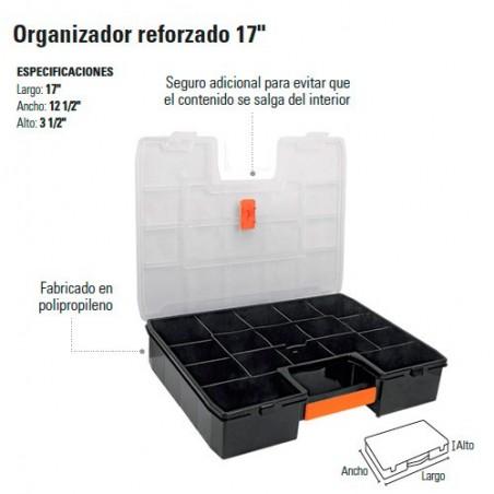 "Organizador Reforzado 17"" TRUPER"