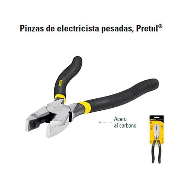 Pinzas de Electricista Pesadas PRETUL
