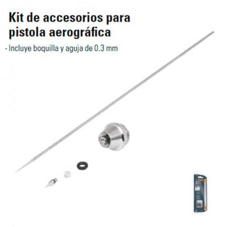 Kit de Accesorios Para Pistola Aerografica TRUPER