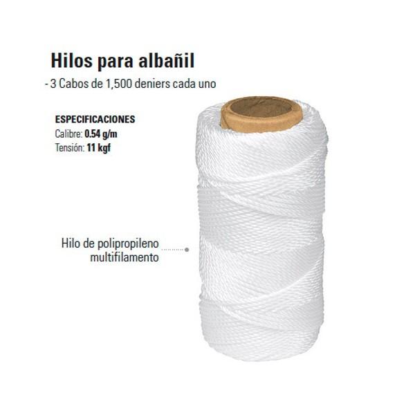 Hilos Para Albañil TRUPER
