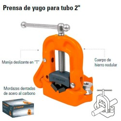 """Prensa de Yugo Para Tubo 2"""" TRUPER"""