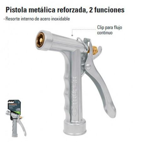 Pistola Para Riego Metalica Reforzada 2 Funciones TRUPER