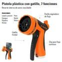 Pistola Para Riego Plastica 7 Funciones TRUPER