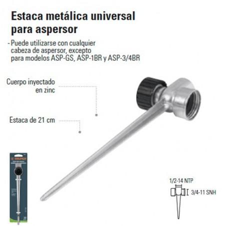 Estaca Metalica Universal Para Aspersor TRUPER