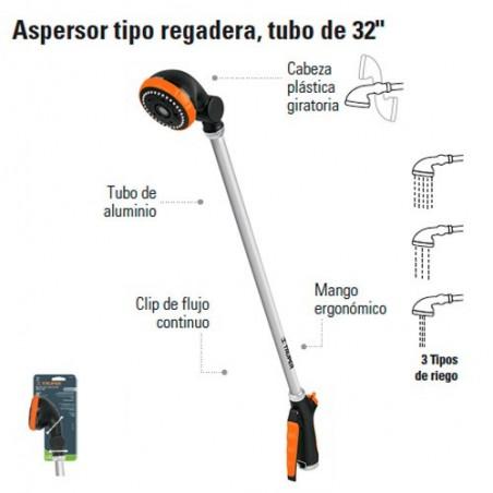 """Aspersor Tipo Regadera Tubo 32 TRUPER"""""""