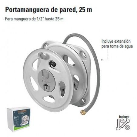 Portamanguera de Pared 25 m TRUPER