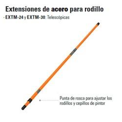 Extension de Acero Para Rodillo TRUPER