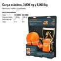 Sujetador Carga Maxima 3000 kg y 5000 kg TRUPER