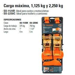 Sujetador Carga Maxima 1125 kg y 2250 kg TRUPER