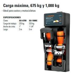 Sujetador Carga Maxima 675 kg y 1000 kg TRUPER