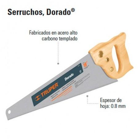 "Serrucho ""Dorado"" TRUPER"
