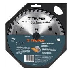 """Disco Sierra Para Aluminio 10"""" Centro de 5/8"""" TRUPER"""