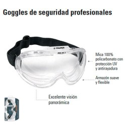 Goggles de Seguridad Profesionales TRUPER