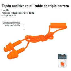 Tapones Triple Barrera TRUPER