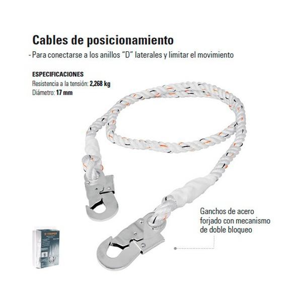 Cables de Posicionamiento TRUPER