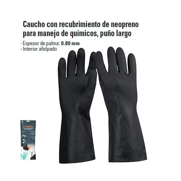 Guantes de Caucho Policloropreno TRUPER