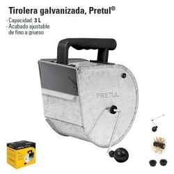 Tirolera Galvanizada PRETUL