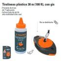 Tiralíneas Plastico 30 m TRUPER