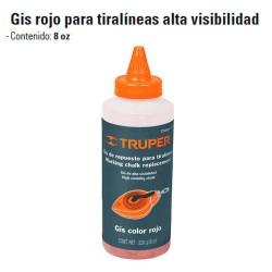 Gis Rojo Para Tiralineas Alta Visibilidad TRUPER