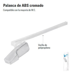 Palanca de ABS Cromado FOSET