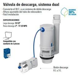 Valvula de Descarga Sistema Dual FOSET