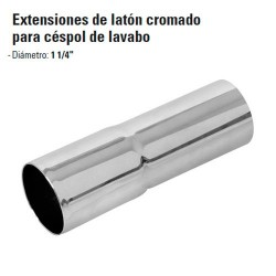 Extensiones de Laton Cromado para Cespol de Lavabo FOSET
