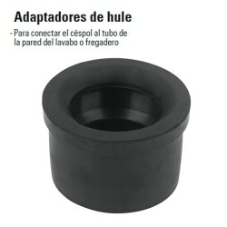 Adaptadores de Hule FOSET