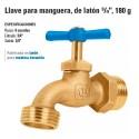 """Llave para Manguera, de Laton 3/4"""" 180 g FOSET"""
