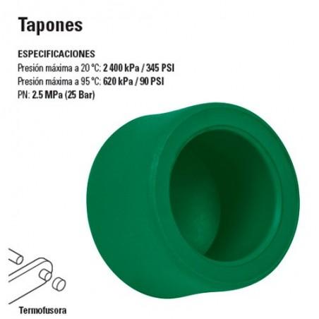 Tapones de PP-R TERMOFLOW