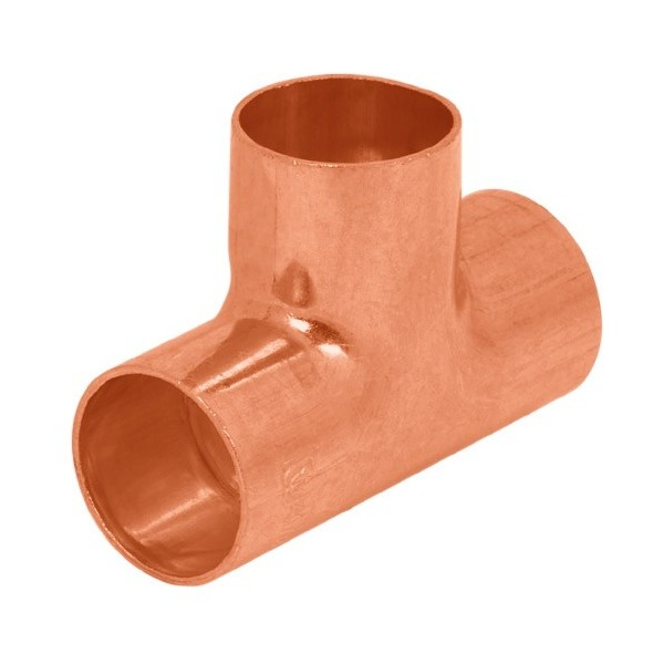 Tee Sencilla de cobre FOSET
