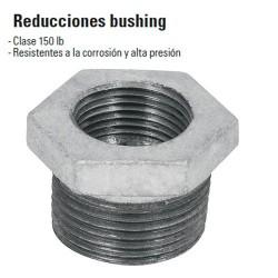 Reducciones Bushing de Acero Galvanizado FOSET