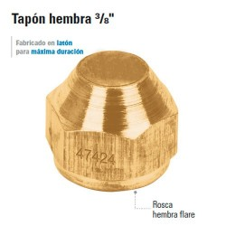 Tapon Hembra 3/8""