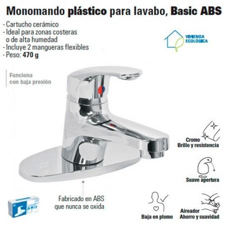Manomando Plastico para Lavabo FOSET