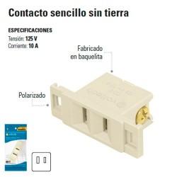 Contacto Sencillo sin Tierra