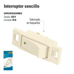 Interruptor Sencillo