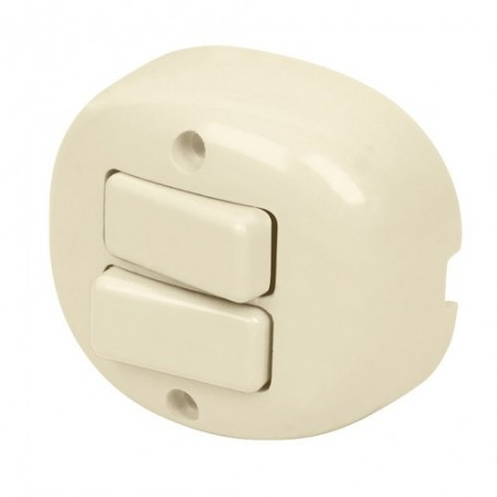 Interruptor de Sobreponer Duplex