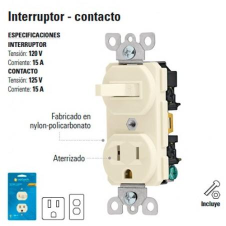 Combo Contacto-Interruptor