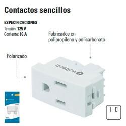 Contacto Sencillo 2 Polos + Tierra