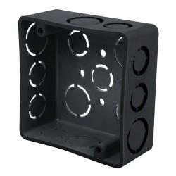 Caja Plastica 4 x 4 Cuadrada