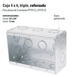 Caja 4 x 6 Triple